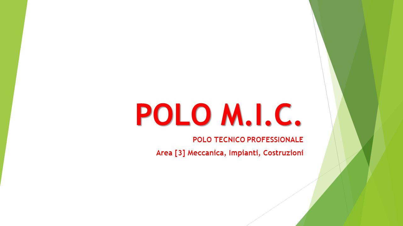 POLO TECNICO PROFESSIONALE Area [3] Meccanica, Impianti, Costruzioni